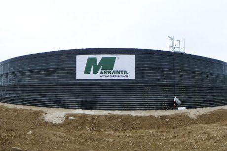 Flexobazén postavený spoločnosťou Merkanta